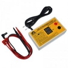 Автоматический тестер LED светодиодов, LED ламп, подсветки 0~320V, 0~35mA, XIAOYUN XY284-GHB