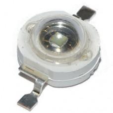 Светодиод 3W EMMITER зеленый 520nm IF=700MA, VF: 3.0-3.2V, IV: 120LM