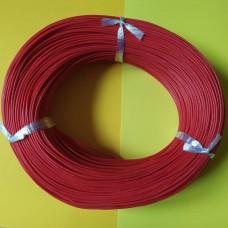Провод монтажный многожильный 20AWG (0,52мм²), силиконовый, красный (1метр)