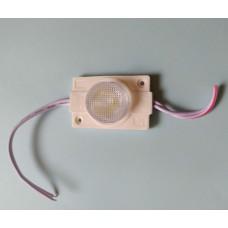 Светодиодный модуль HS-3535TJ-1D-2W-W3 45*30*15mm, 6000К Cool White, 2W, DC12V, SMD3535