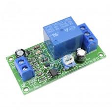 Модуль таймера задержки включения выключения 0-60 секунд на NE555