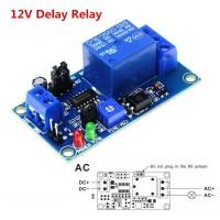 Модуль реле времени с задержкой 0,1с до 60м, 5-12В, 10A / AC 250В