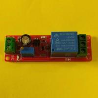 Модуль реле времени, таймер отключения или включения 12В, 10A / AC 250В, 0-10 секунд на NE555