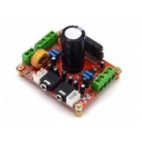 Аудио усилитель мощности 4-канальный на TDA7850 4*50Вт с шумоподавлением BA3121