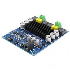 Аудио усилитель класса D стерео 2*50Вт TPA3116D2 Bluetooth с предварительным усилителем на NE5532