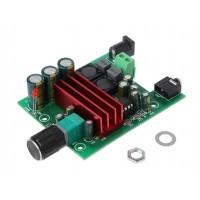 Аудио усилитель для сабвуфера 100Вт, TPA3116D2, фильтр НЧ, D класс