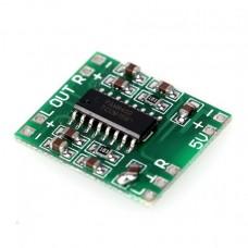 Cтерео аудио усилитель 2х3Вт D-класса на PAM8403