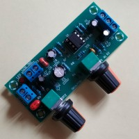 Фильтр низких частот моно 22-300 Гц для сабвуфера