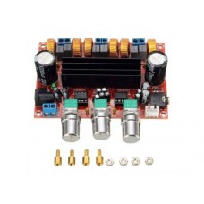 Цифровой усилитель звуковой частоты класс D на микросхеме TPA3116D2 50W * 2 + 100W 2.1