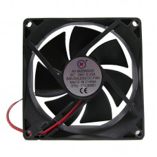 Вентилятор AV-9025M24S 92 x 92 x 25 mm, 24V, 0.25A, 2 провода