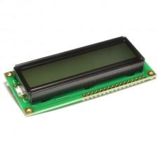 LCD 1602A V1.1 желто-зеленый фон с подсветкой