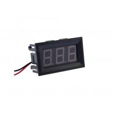 Вольтметр цифровой AC 70-500V встраиваемый (переменный ток) зеленый
