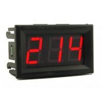 Вольтметр цифровой AC 70-500V DSN-DVM-568AC встраиваемый (переменный ток) КРАСНЫЙ