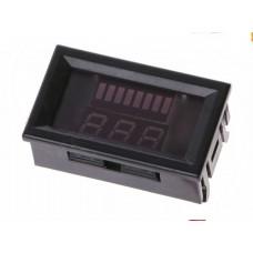 Вольтметр - индикатор уровня заряда аккумулятора 12-60 вольт